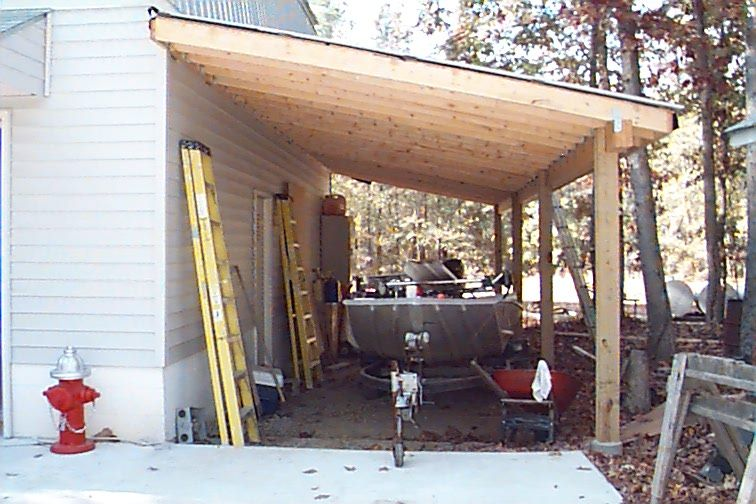Patio Off Of The Garage Pictures Vinyl Siding Is