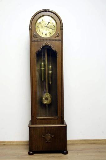 Piekny Stojacy Zegar Hawina 7990555915 Oficjalne Archiwum Allegro Antique Wall Clock Wall Clock Clock