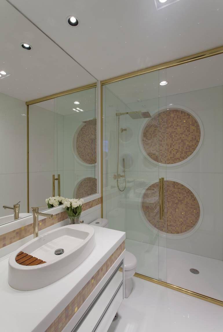 Apartamento moderno com decoração sofisticada em cores claras! - Decor Salteado…