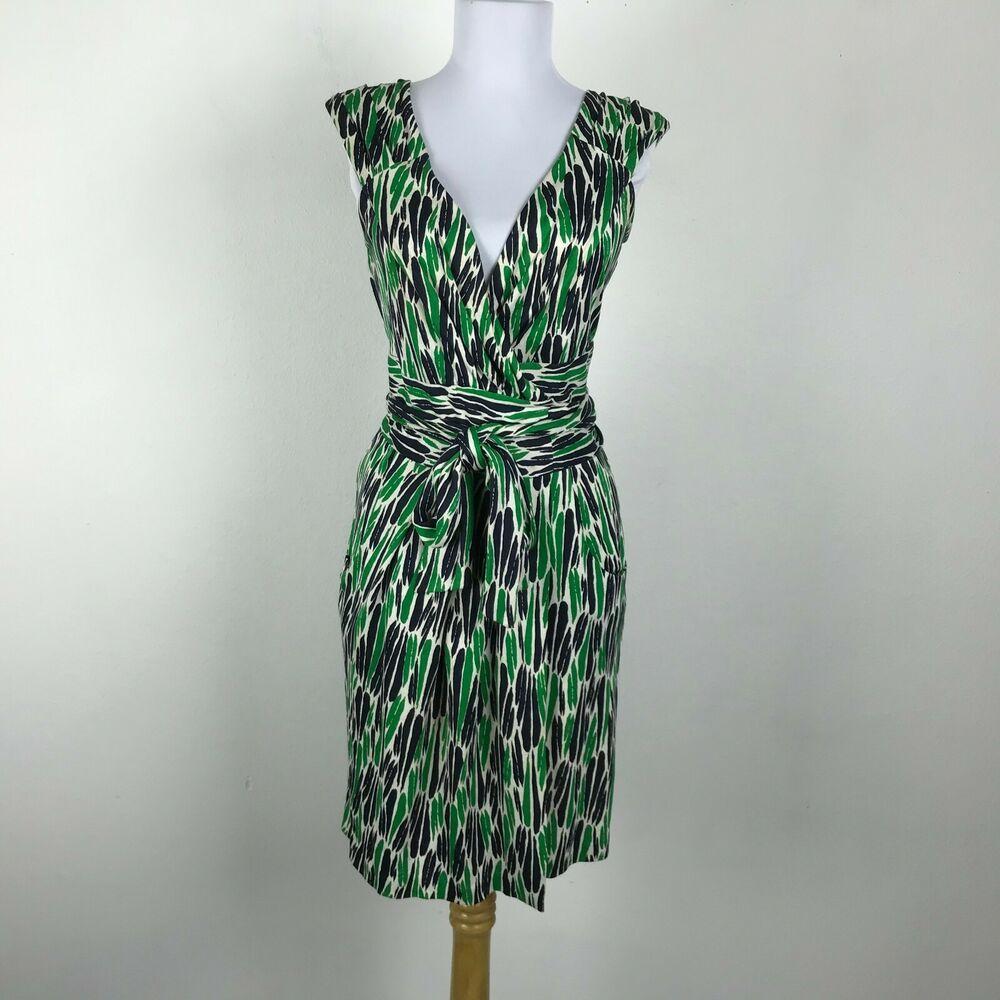 Vintage Diane Von Furstenberg Wrap Dress Sz 4 Green Black White Silk Sleeveless Dianevonfurstenberg Wrapd Diane Von Furstenberg Wrap Dress Wrap Dress Fashion [ 1000 x 1000 Pixel ]
