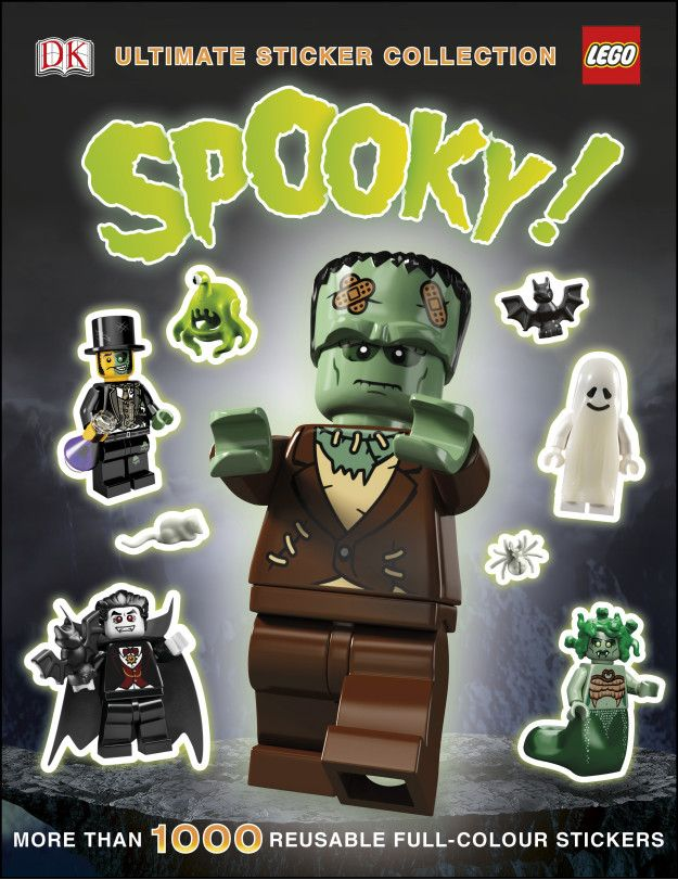 LEGO® Spooky! Ultimate Sticker Collection | LEGO DK Books ...