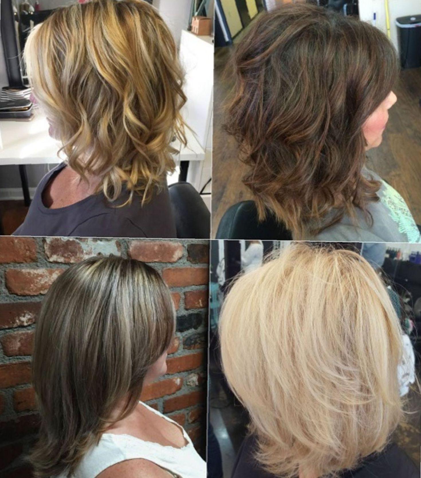 sensational medium length haircuts for thick hair i