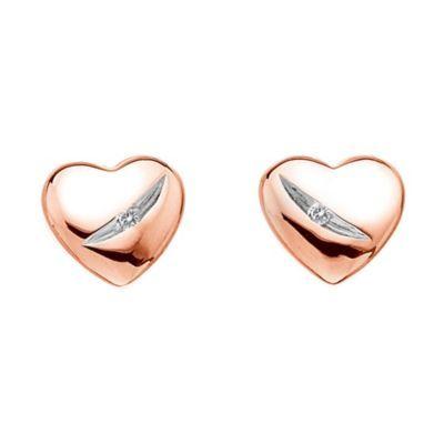 Hot Diamonds Shooting Stars rose gold-plated stud earrings- Ernest Jones #ernestjones #hotdiamonds