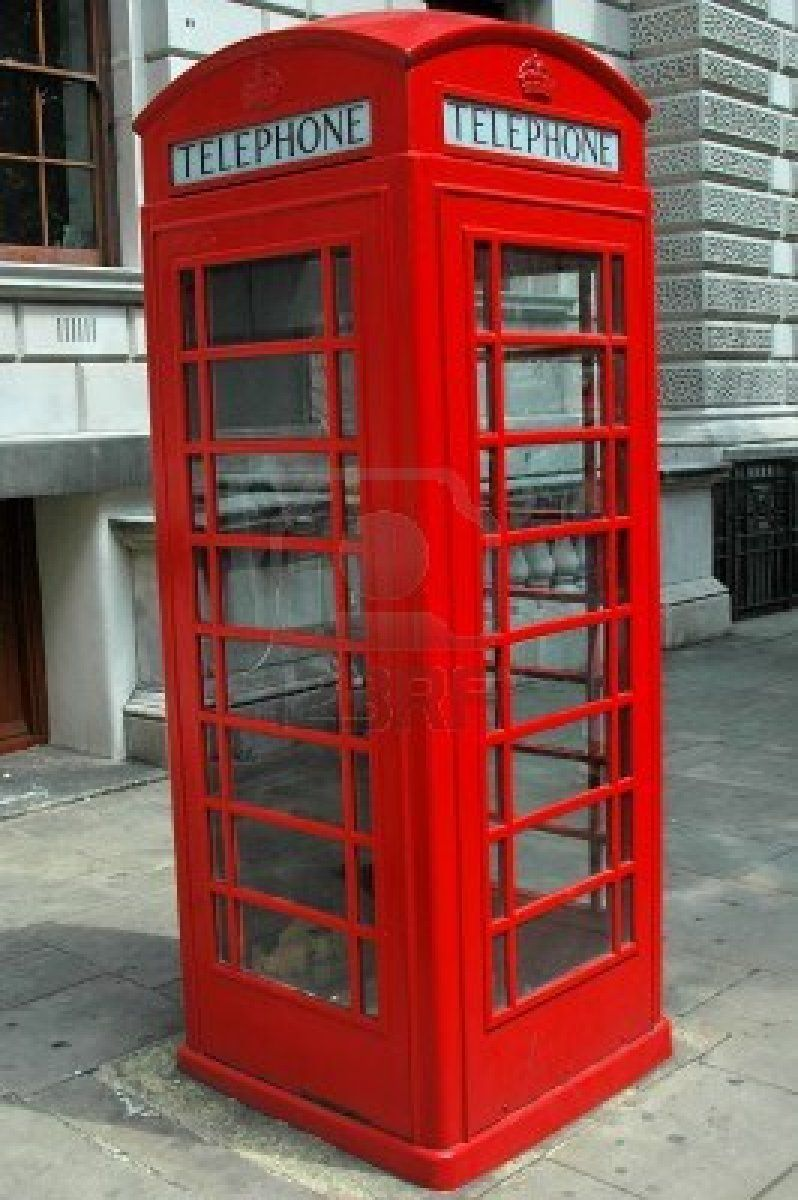 Famous Red Telephone Cabin In London Photo London London Photography