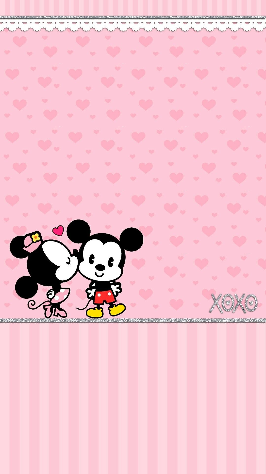 Polka Dot Minnie Mouse Wallpaper Android Download in 2020