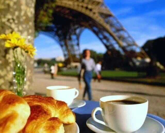 Coffee at Eiffle Tower