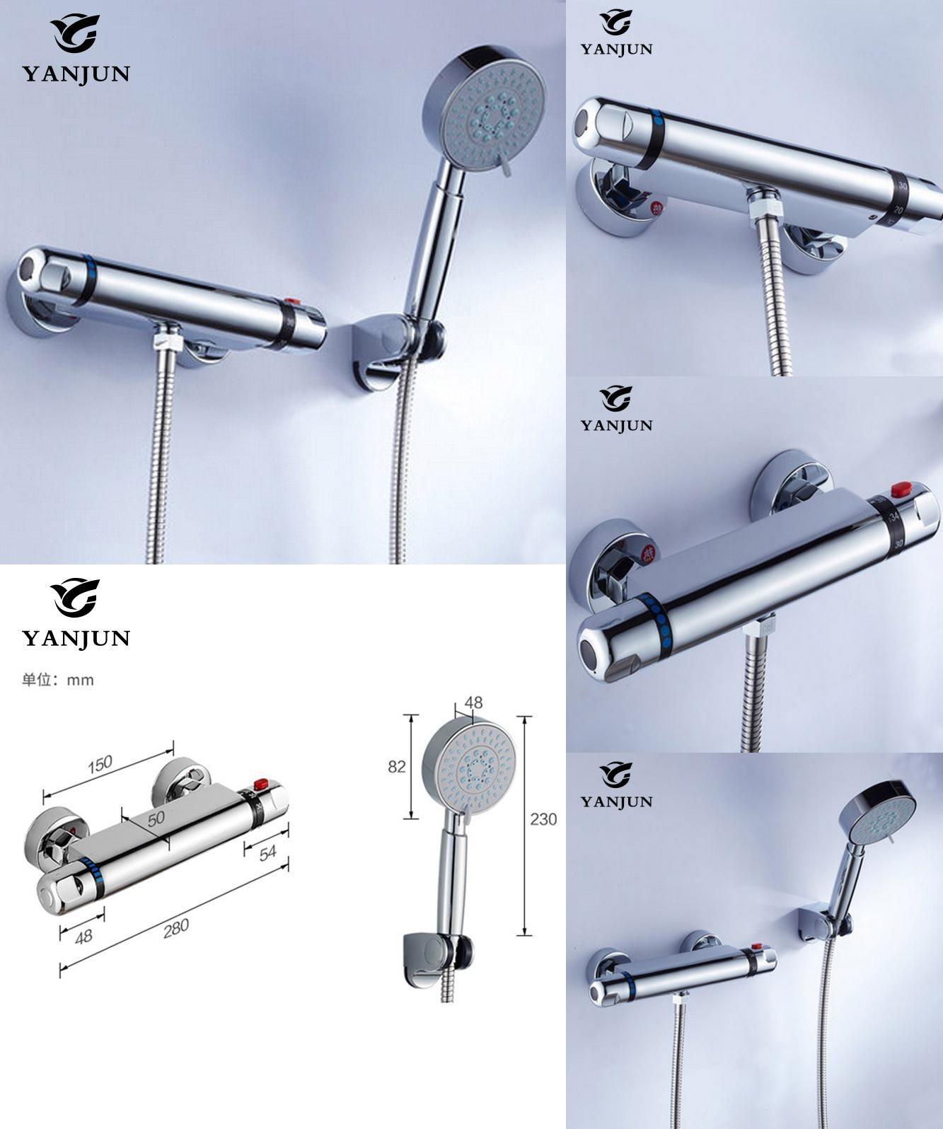 visit to buy yanjun shower faucet sets modern thermostatic visit to buy yanjun shower faucet sets modern thermostatic bathroom bath shower mixer tap