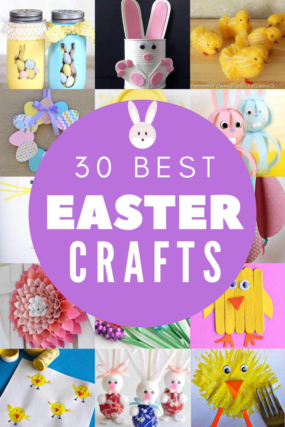 30 Easter Crafts For Any Age Favorite Craft Ideas Diy Easter