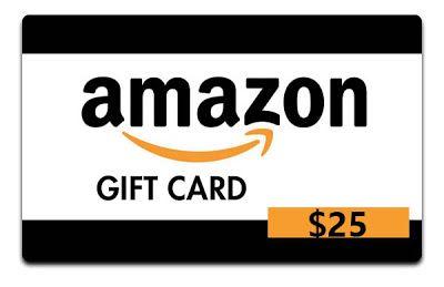 Win 25 Amazon Gift Card With Images Amazon Gift Cards Amazon