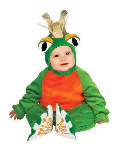 Rubieâ\u20ac™s Costume Co Cuddly Jungle Frog Romper Prince Costume - womens halloween ideas