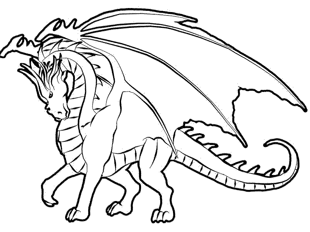 Color The Dragon Coloring Pages In Websites Crafts
