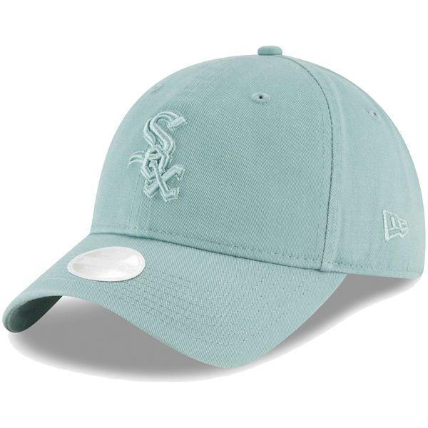 bbc8330712107 Women s Chicago White Sox New Era Light Blue Core Classic Twill ...
