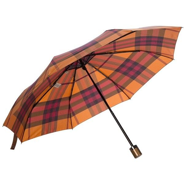 BURBERRY LONDON checked umbrella... Keep the rain off in style #whynot