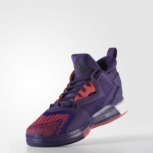 detailed look 821dc 1ce5a purple damian lillard shoes