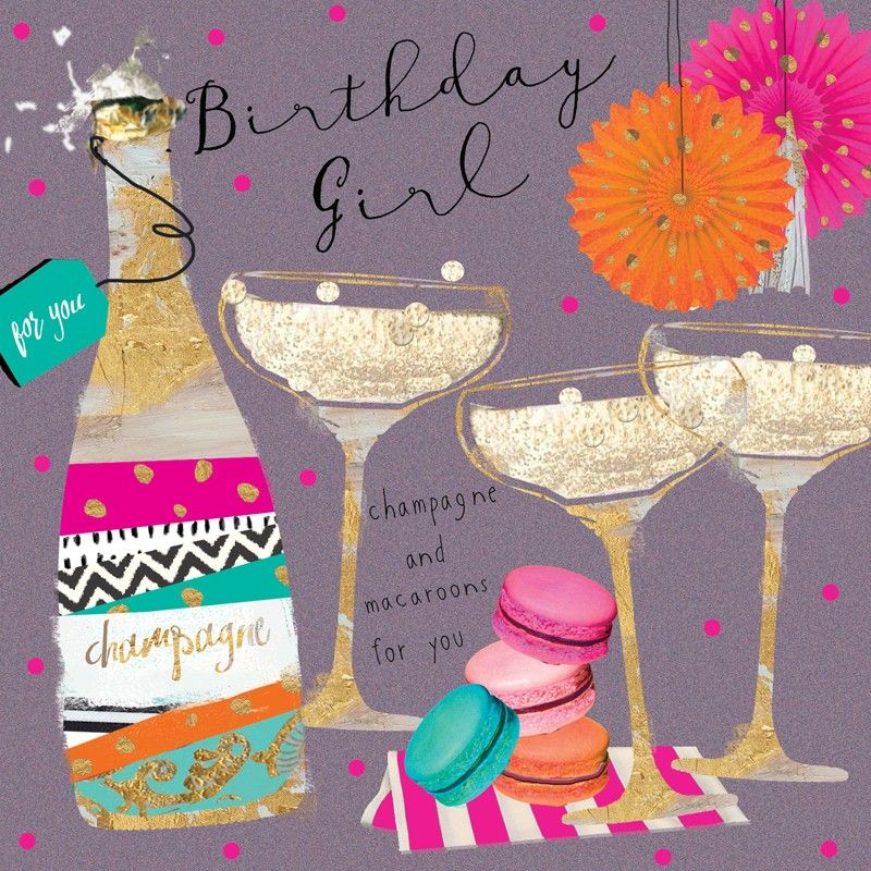 Birthday … Happy birthday drinks, Happy birthday cards