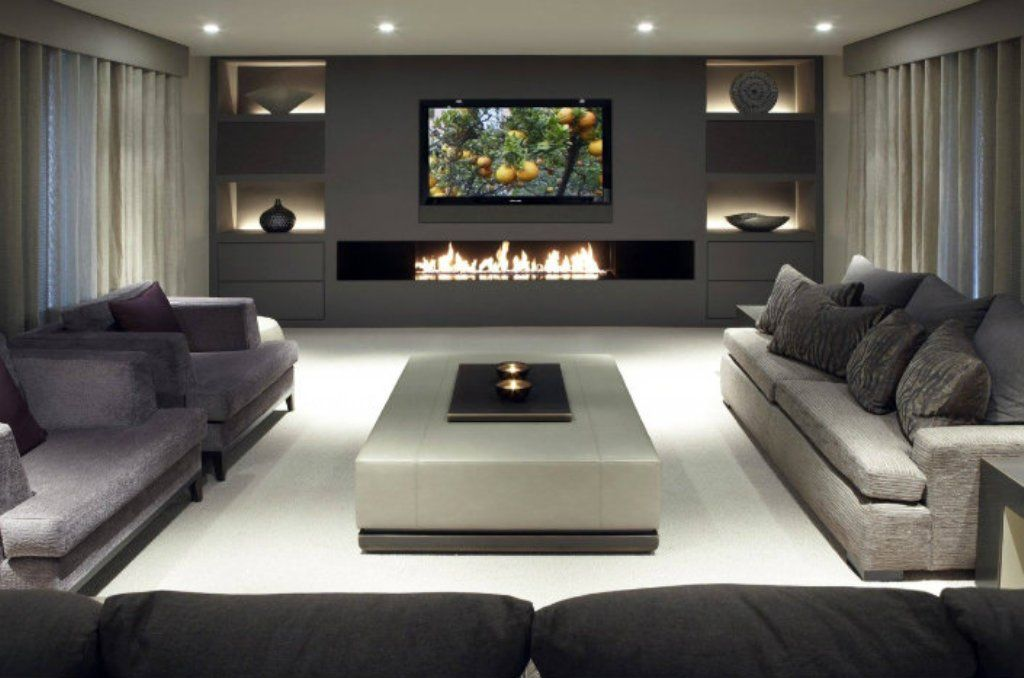 Contemporary Electric Fireplace For