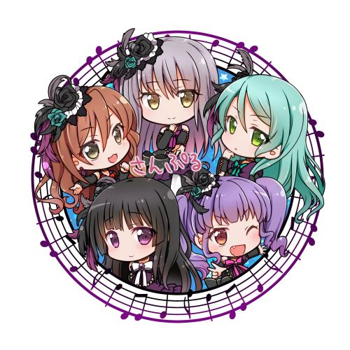 Artist: Pixiv Id 3144223 | BanG Dream! Girls Band Party! | Roselia |