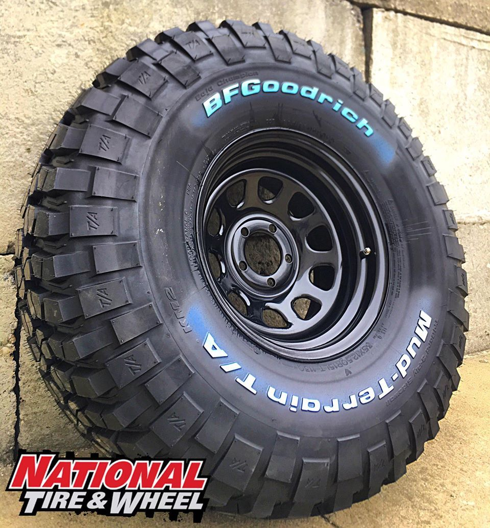 15x8 Pro Comp Steel Wheel 35x12 50r15 Bf Goodrich Km2 Click The Visit Button Above To Beg Wheel And Tire Packages Wheels And Tires Custom Wheels And Tires