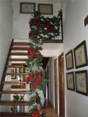 Las escaleras decoradas de martha alicia lectora de - Escaleras decoradas en navidad ...