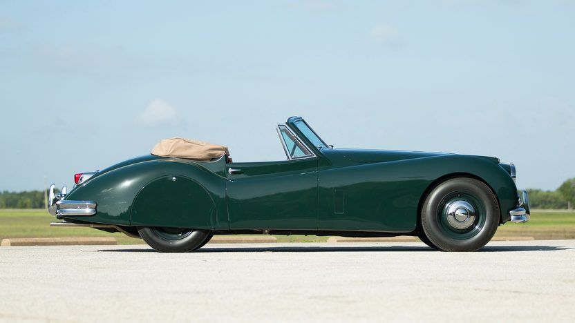 1955 Jaguar Xk140 Drophead Coupe 7 Coupe Jaguar British Racing Green