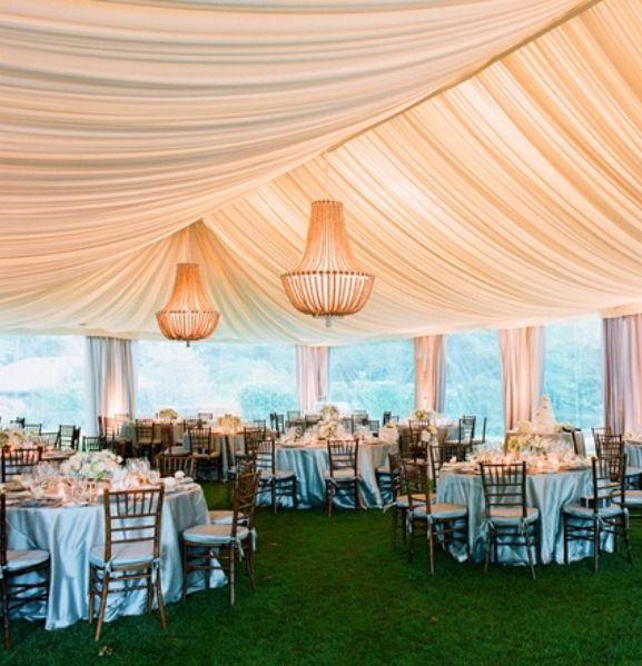 Outdoor Tent Wedding Receptions Ideas