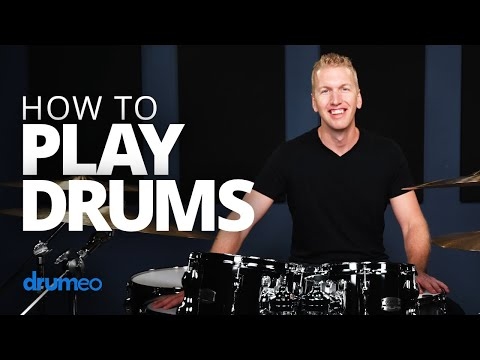 (4) How To Play Drums (Beginner Drum Lesson) YouTube in