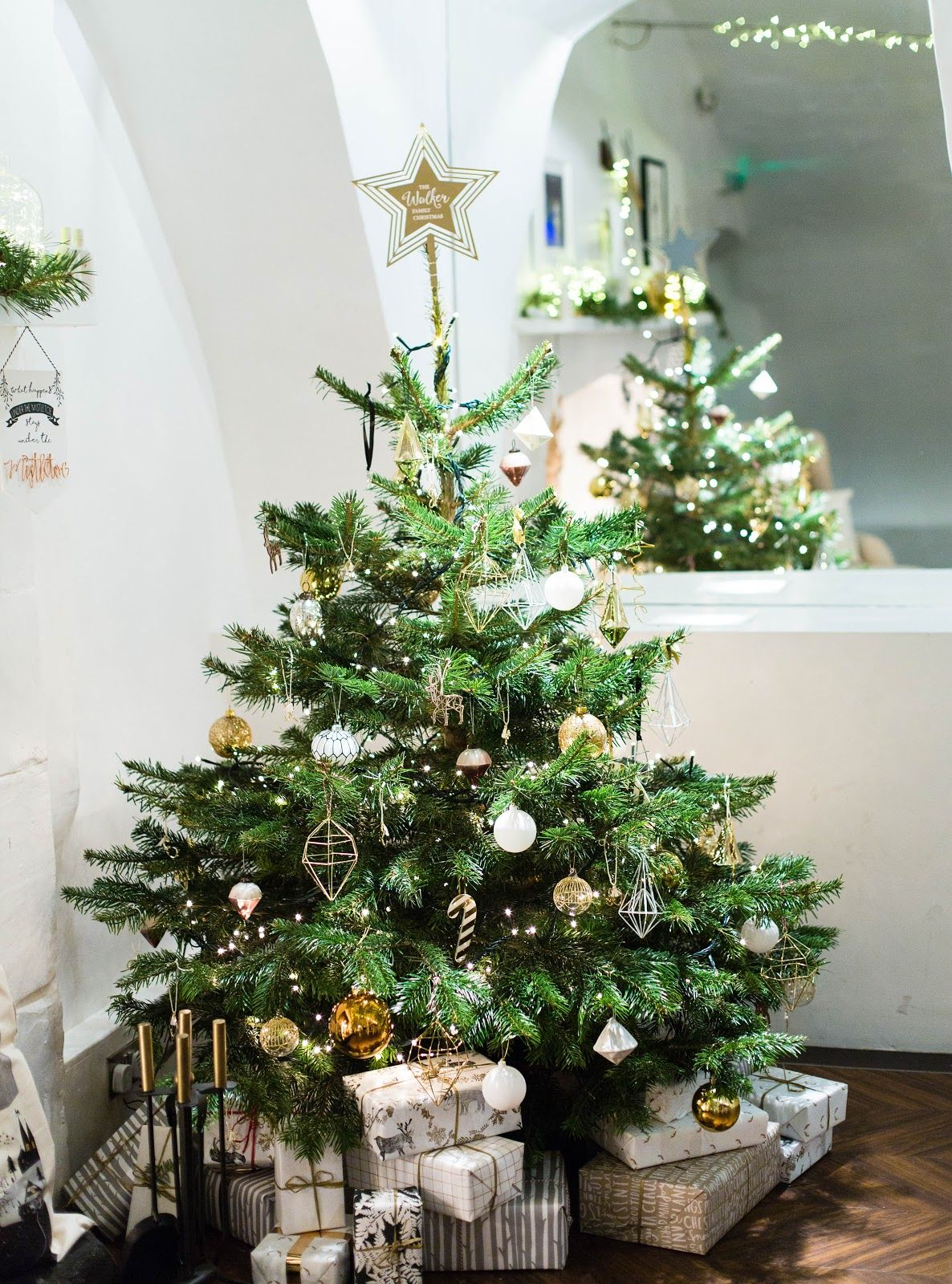 Not On The High Street Christmas In July Finnterior Designer Contemporary Christmas Trees Christmas Tree Inspiration Christmas Interiors
