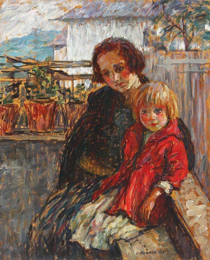 Alături de mama - Samuel Mutzner