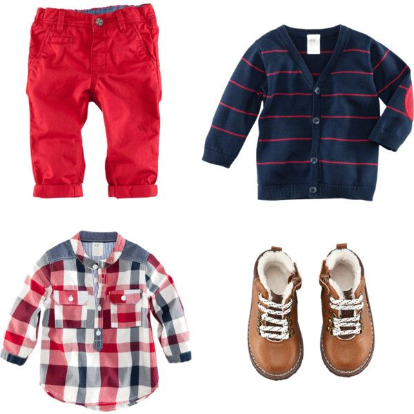 U0026quot;Infant Boy Fall Blue and Redu0026quot; by swtginger on Polyvore | Little Man Threads | Pinterest ...