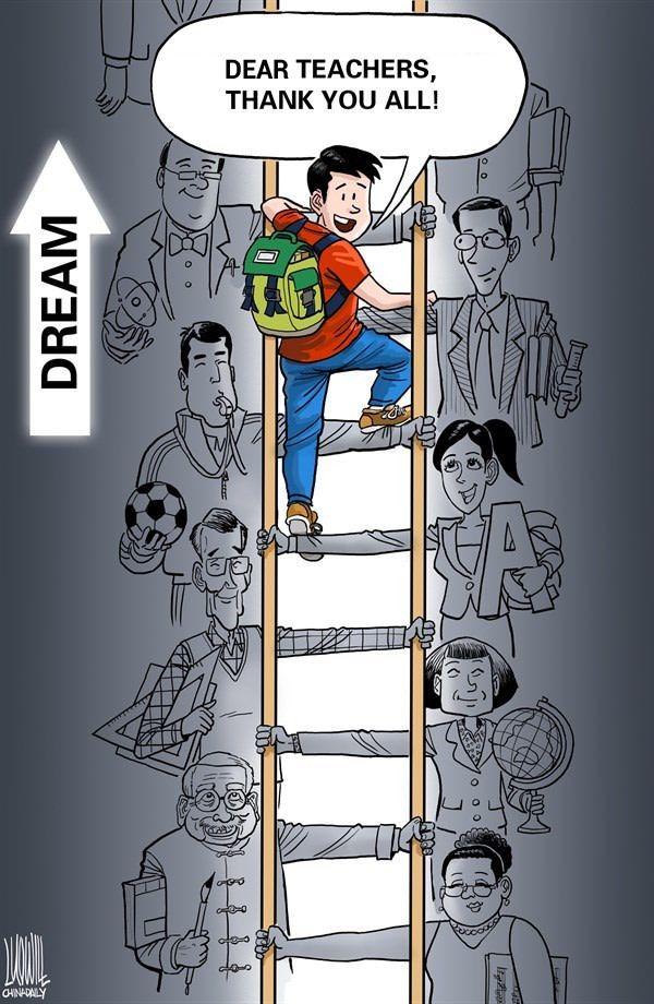 Definition Of Teacher Happy Teachers Day Teachers Day Drawing Teachers Day