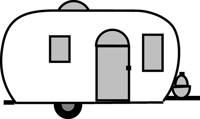 Free Image On Pixabay Globetrotter Caravan Mobile Home Camper Quilt Camper Clipart Camper Art