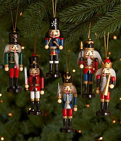 nutcracker ornaments - Nutcracker Ornaments Nutcracker And Mouse King Christmas Party