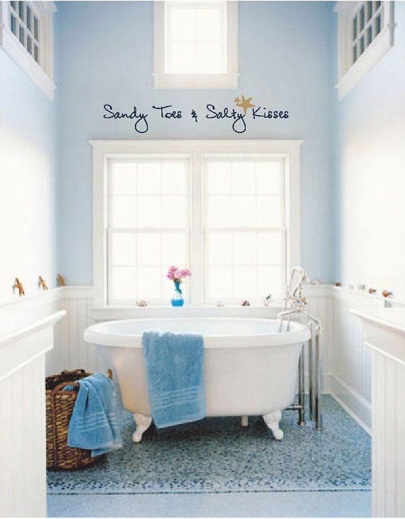 Relaxing Bathroom Colors: Sandy Toes & Salty Kisses