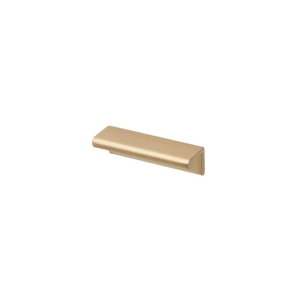 Satin Brass Cabinet Pulls 25 In Satin Brass Finger Pull Cleanses Satin And Hardware