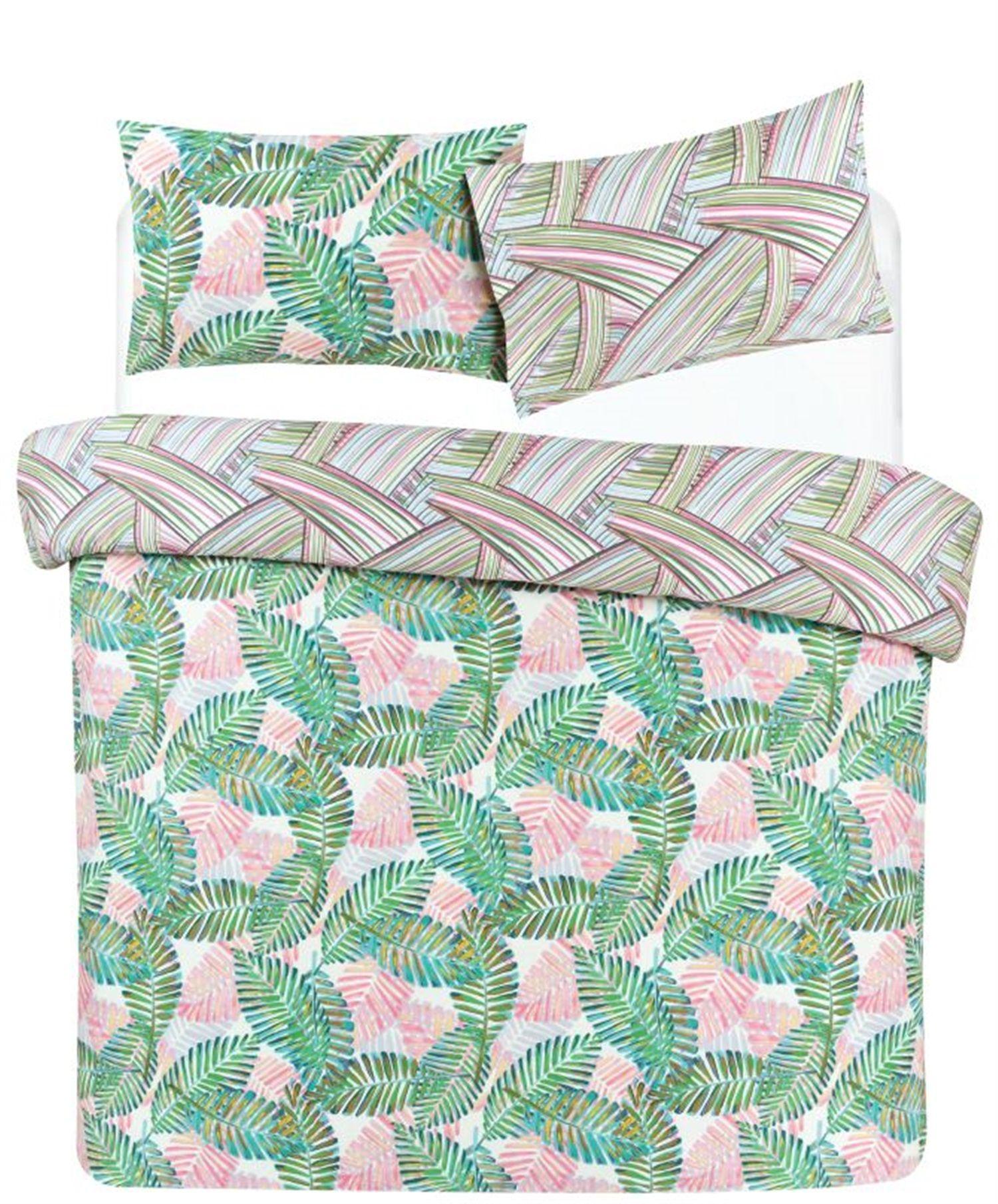 Palm Leaf King Size Duvet Cover