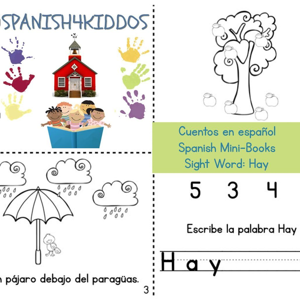 Spanish Mini Books