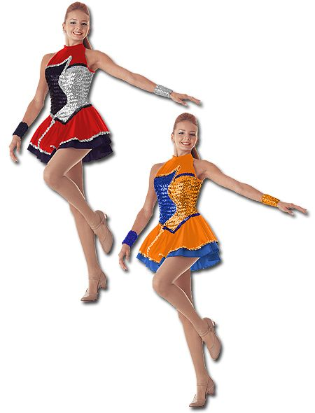 4fdf09fa8130 Majorette Costume (Reflections Dress) | Drum and Lyre Uniforms ...