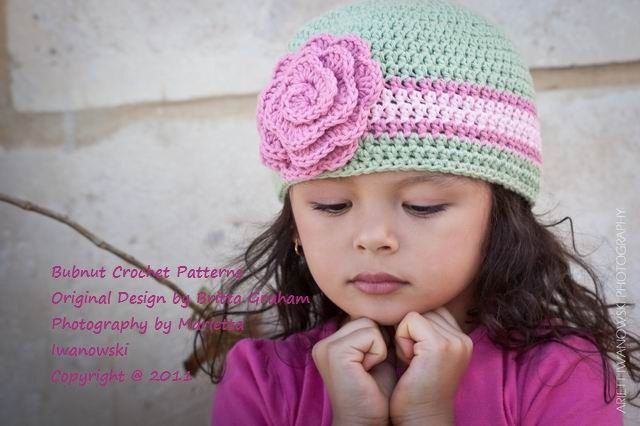 Crochet Hat Pattern - Girls and Boys Quick and Easy Crochet Hat NINE ...