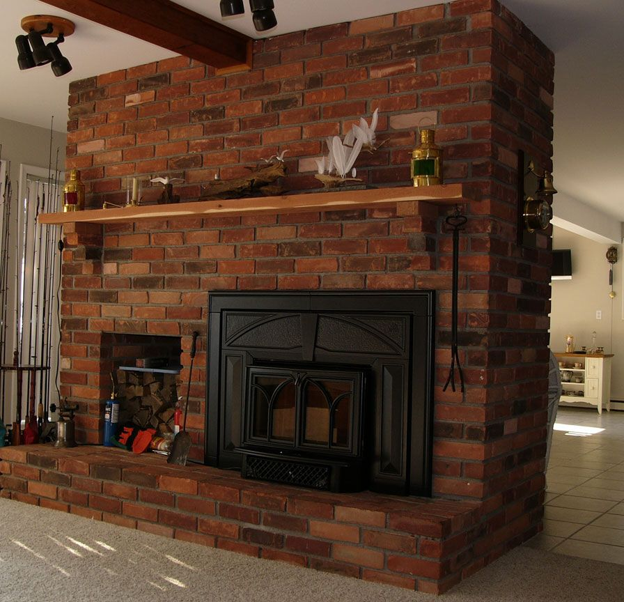 Fireplace Design jotul fireplace : Jotul Fireplace Insert wood storage - Jotul Fireplaces | Pinterest ...