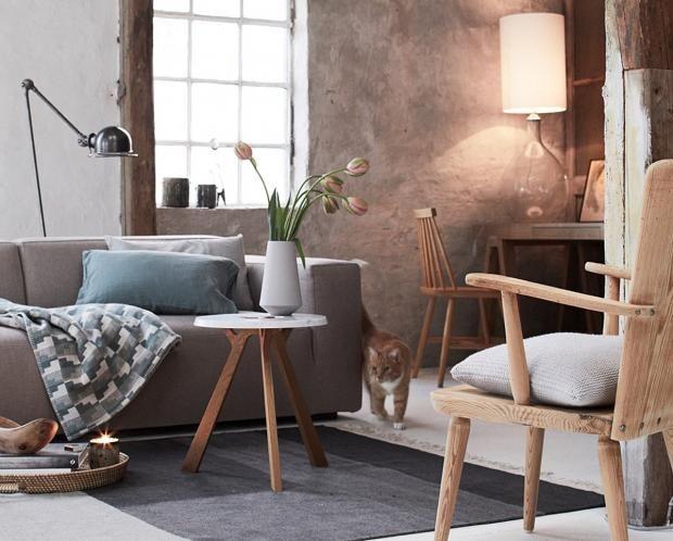 Perfekt Wohnzimmer Im Neuen Landhaus  Oder Modern Country Stil