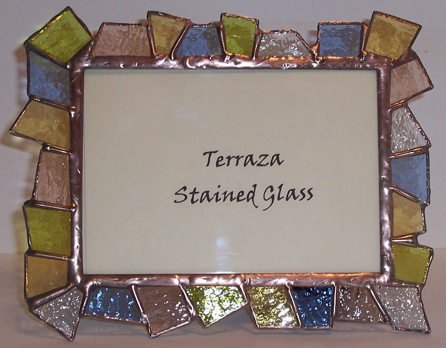 stained glass picture frame bing images stained glass photo frames glass picture frames. Black Bedroom Furniture Sets. Home Design Ideas