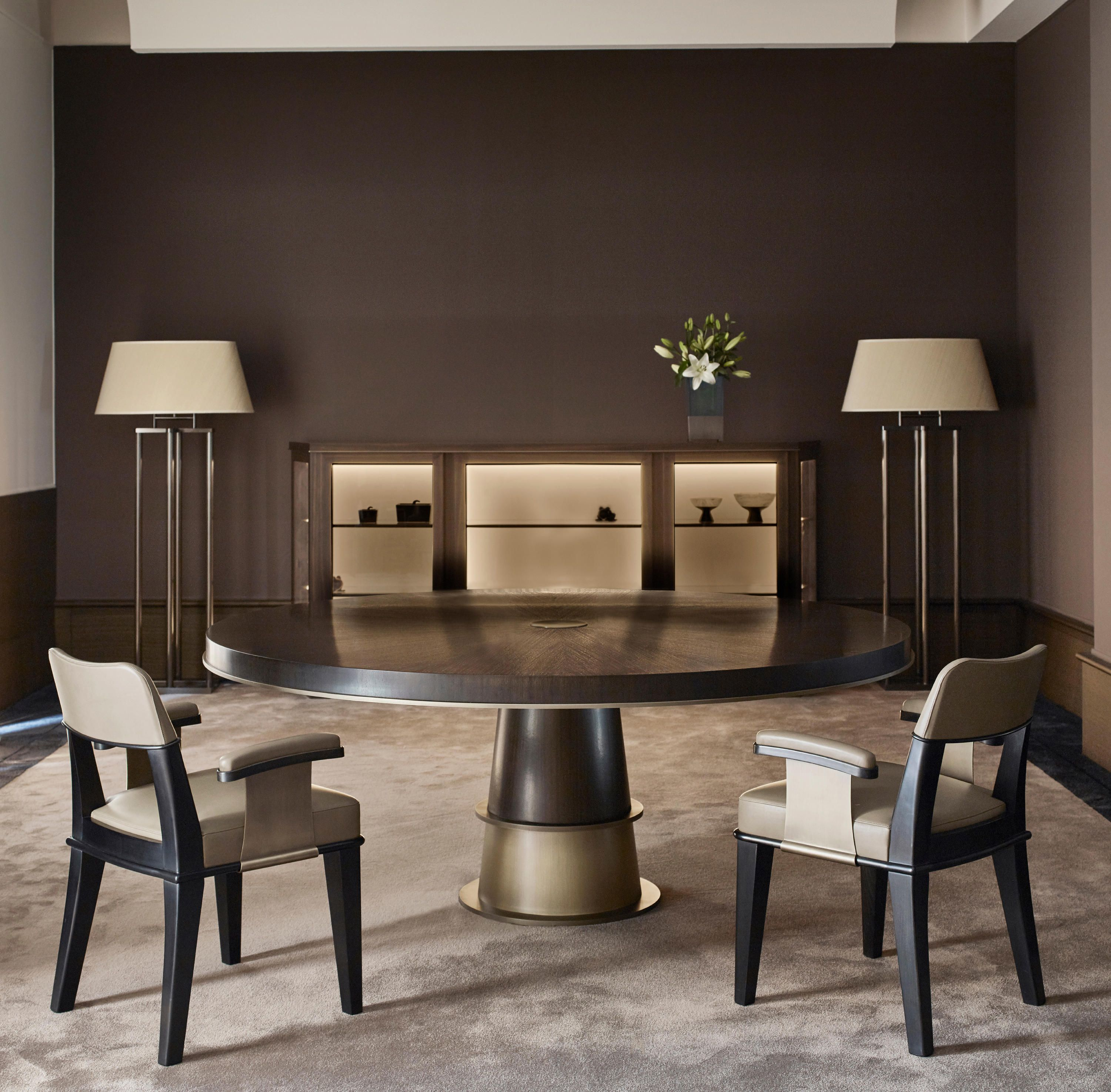 Tornasole Dining Table Designer Dining Tables From Promemoria All Information High Resolution Images Cads