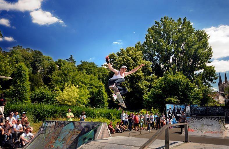 Graff, skate an sun !