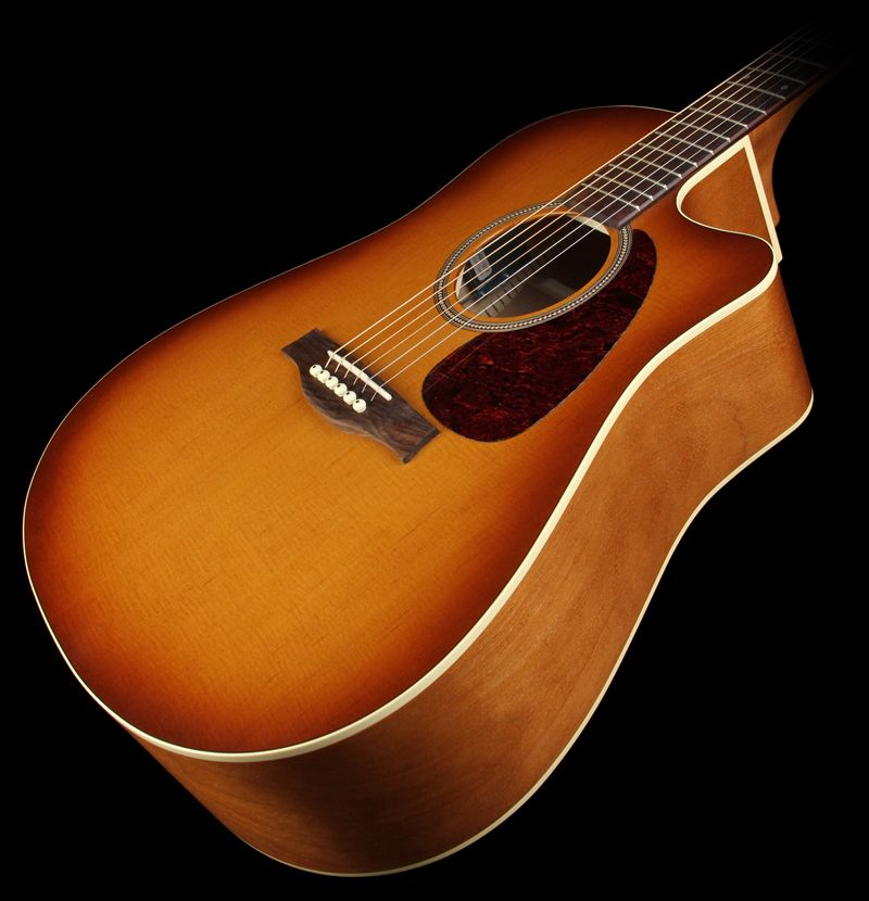 Seagull Entourage Rustic Cw Qi Acoustic Electric Guitar The Music Zoo I Could Say Is Warm Charming Sounded Acoustic Electric Guitar Guitar Acoustic Electric