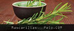 Mascarillas para el pelo de romero y aceite de oliva