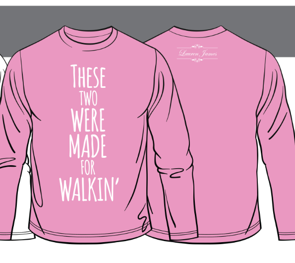 We're thinking pink, and we're thinking southern! For every shirt purchased we're donating $5.00 to the fight against breast cancer! I want this in honor of nana.