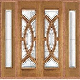 contemporary double doors | ... Doors | External Oak Sidelight Sets | External Oak & contemporary double doors | ... Doors | External Oak Sidelight ... pezcame.com