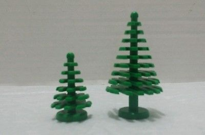 LEGO Green Tree Leaves Bush Plant Palm