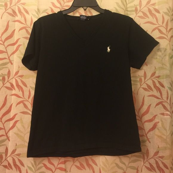 Black Polo Sport V-Neck Black Polo Sport V-Neck. Worn a handful of times and still in great condition. 100% Cotton. Polo by Ralph Lauren Tops