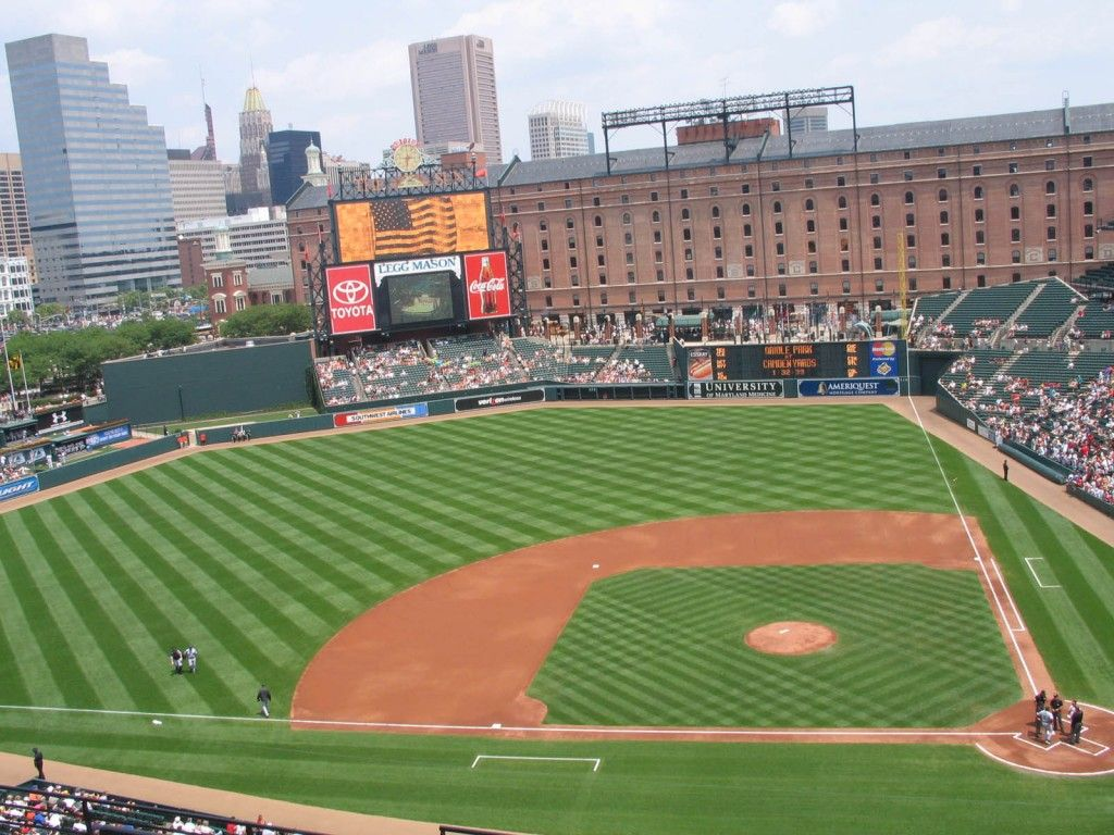 Pin By Lisa Mello On Been There Done That Mlb Stadiums Baltimore Orioles Wallpaper Orioles Wallpaper